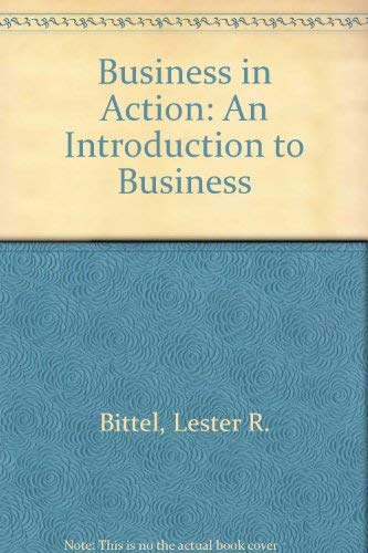 9780070055650: Business in Action: An Introduction to Business