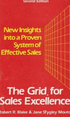 9780070056800: Grid for Sales Excellence