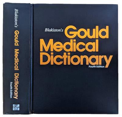 9780070057005: Blakiston's Gould Medical Dictionary