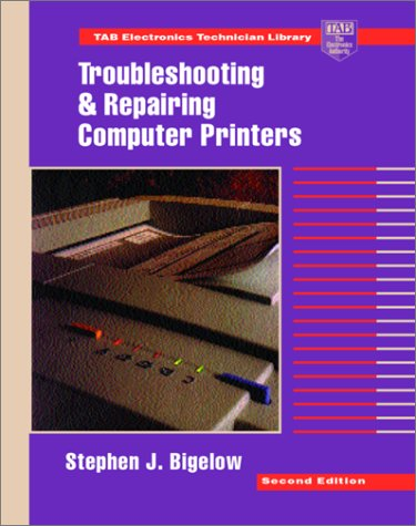 9780070057319: Troubleshooting and Repairing Computer Printers