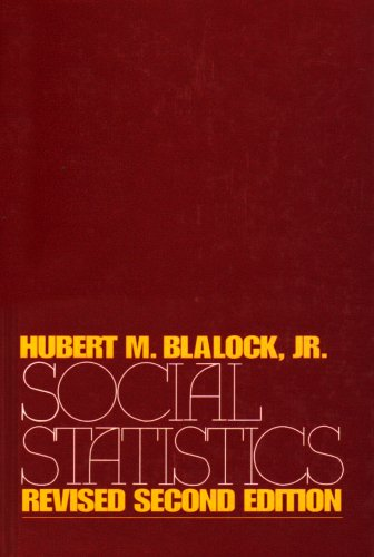 9780070057524: Social Statistics (McGraw-Hill Series in Sociology)