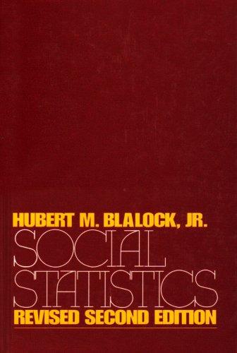 9780070057524: Social Statistics (McGraw-Hill Series in Sociology)