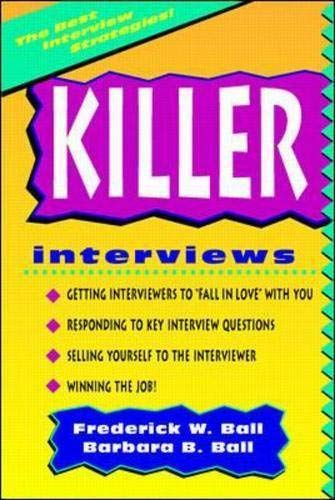 9780070057562: Killer Interviews