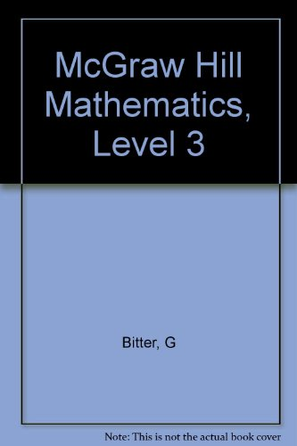 9780070057630: McGraw Hill Mathematics, Level 3