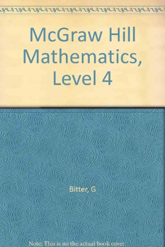 9780070057647: McGraw Hill Mathematics, Level 4