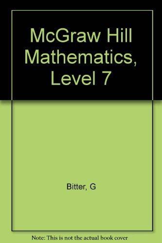 McGraw Elementary Math: Bitter, Gary G.