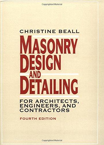 9780070058446: Masonry Design and Detailing