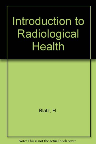 9780070058842: Introduction to Radiological Health