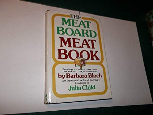 9780070059085: The Meat Board meat book