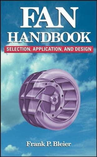 9780070059337: Fan Handbook: Selection, Application, and Design