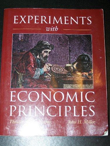 9780070059528: Experiments With Economic Principles