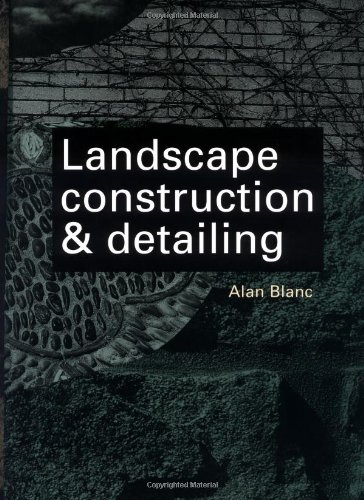 9780070059573: Landscape Construction and Detailing