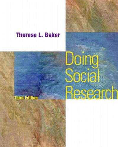 9780070060029: Doing Social Research