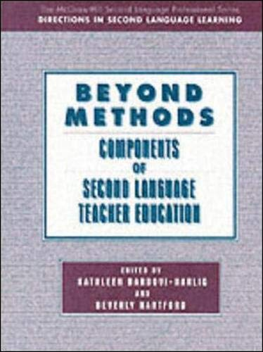9780070061064: BEYOND METHODS: COMPONENTS OF LANGUAGE TEACHER EDUCATION: Text