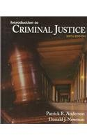 Introduction To Criminal Justice: Patrick Anderson, Donald