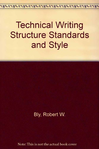 9780070061743: Technical Writing Structure Standards and Style