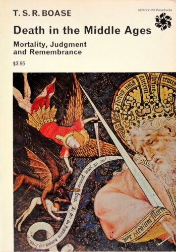 9780070062047: Death in the Middle Ages; Mortality, Judgment, and Remembrance