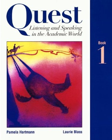 9780070062504: Quest Listening and Speaking in the Academic World, Book 1