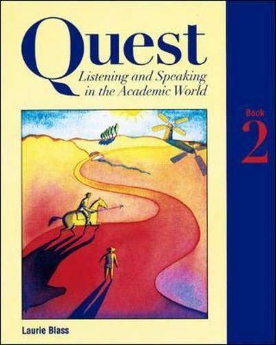 9780070062528: Quest: Listening and Speaking in the Academic World, Book 2