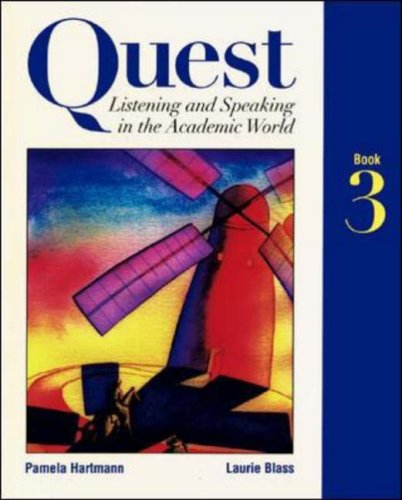 9780070062559: Quest: Listening and Speaking in the Academic World, Book 3