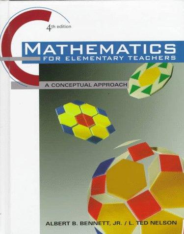 9780070062955: Mathematics for Elementary School Teachers: A Conceptual Approach