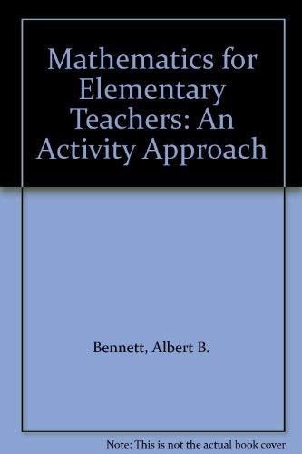 9780070062986: Mathematics for Elementary Teachers: An Activity Approach
