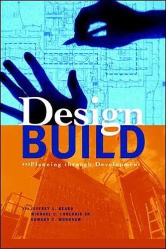 9780070063112: Design-Build: Planning Through Development