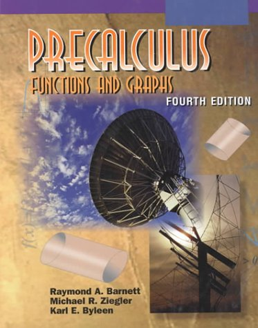 9780070063419: Precalculus: Functions and Graphics