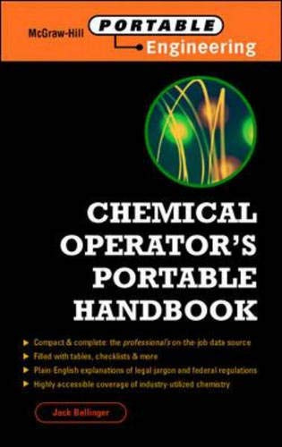9780070063693: Chemical Operator's Portable Handbook