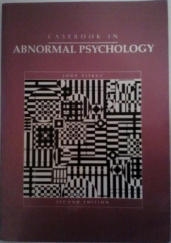 9780070065468: Casebook in Abnormal Psychology