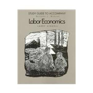 9780070065994: Study Guide to Accompany Labor Economics