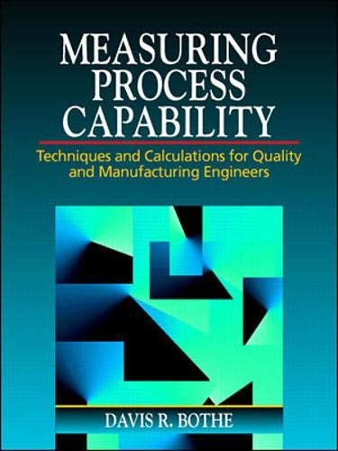 9780070066526: Measuring Process Capability: Techniques and Calculations for Quality and Manufacturing Engineers