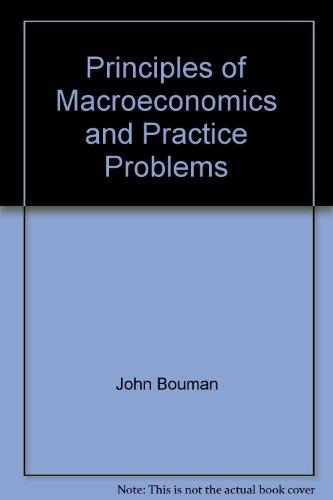 9780070066762: Principles of Macroeconomics and Practice Problems