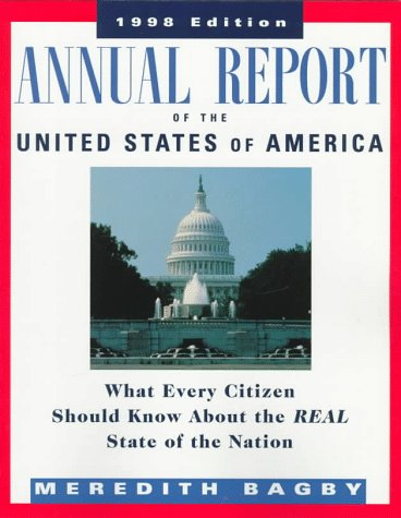 9780070067080: Annual Report of the United States of America, 1998 Edition