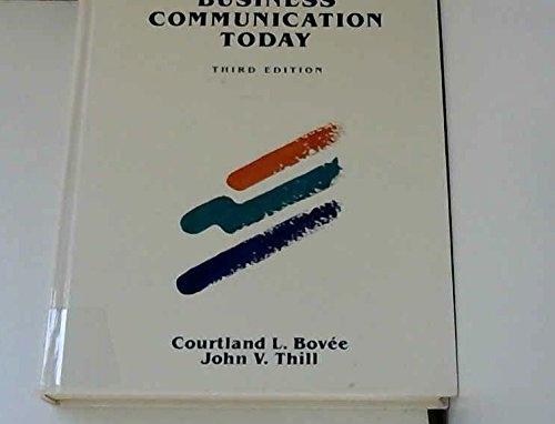 9780070067462: Business Communication Today
