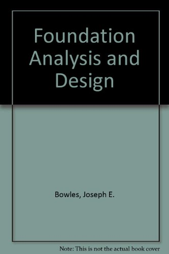 9780070067493: Foundation Analysis and Design