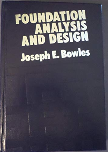 9780070067509: Foundation Analysis and Design