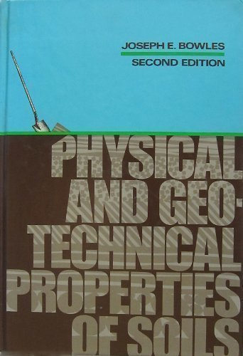 9780070067721: Physical and Geotechnical Properties of Soils