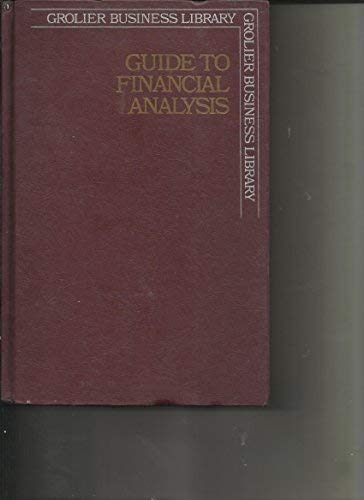 9780070067813: Guide to Financial Analysis (McGraw-Hill finance guide series)