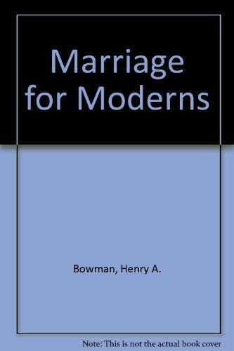 9780070068001: Marriage for Moderns
