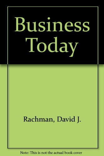 9780070068216: Business Today