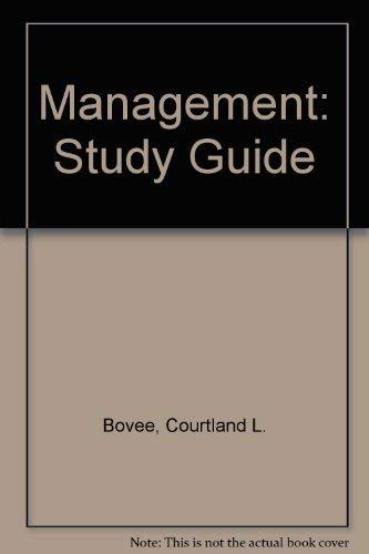 9780070068360: Management: Study Guide
