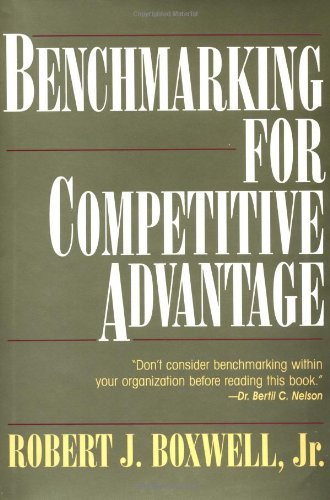 9780070068995: Benchmarking for Competitive Advantage