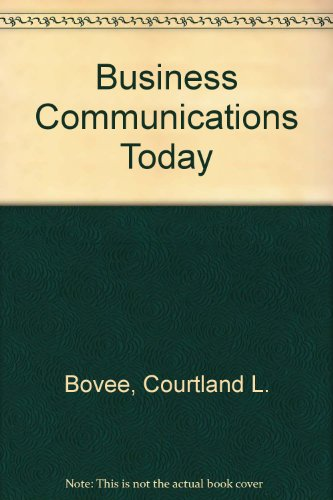9780070069107: Business Communications Today