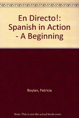9780070069503: ¡En directo! A Beginning Course (Second Edition, 1994) (English and Spanish Edition)
