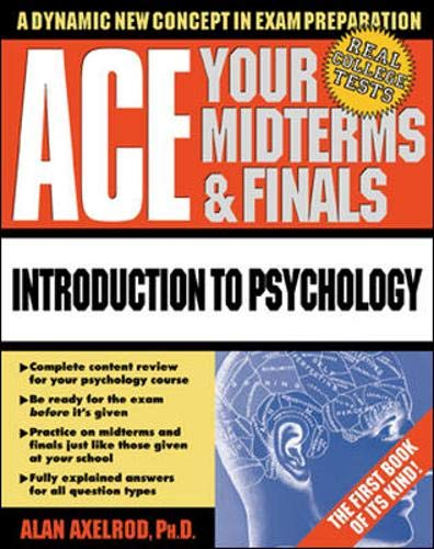 9780070070073: Ace Your Midterms & Finals: Introduction to Psychology (Schaum's Midterms & Finals Series)