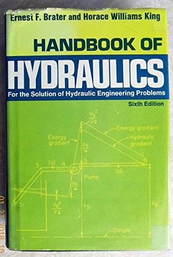 9780070072435: Handbook of Hydraulics for the Solution of Hydraulic Engineering Problems