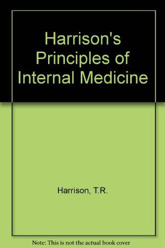 9780070072619: Harrison's Principles of Internal Medicine