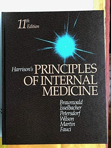 9780070072633: Harrison's Principles of Internal Medicine Eleventh Edition (Volume 2)