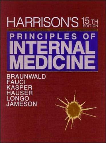9780070072725: Harrison's Principles of Internal Medicine, 15th Edition